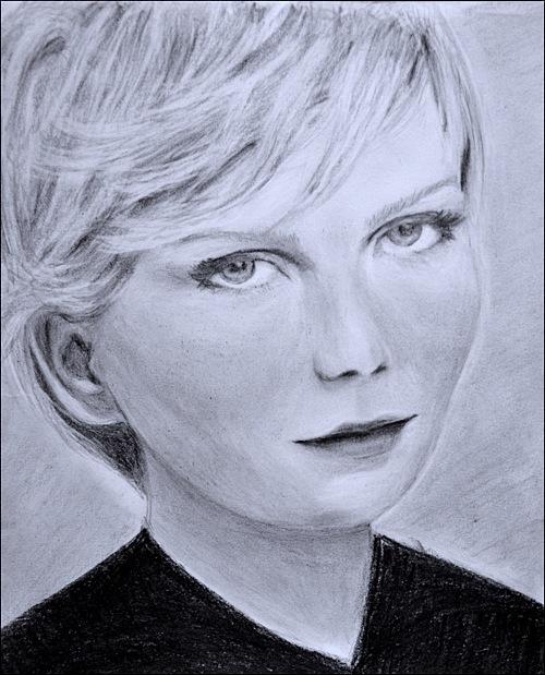 Melancolia. Crayon on paper, 21x30, 2012