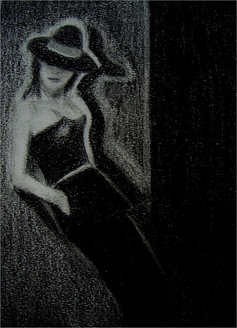 Puppe. Crayon on paper, 21x15, 2012