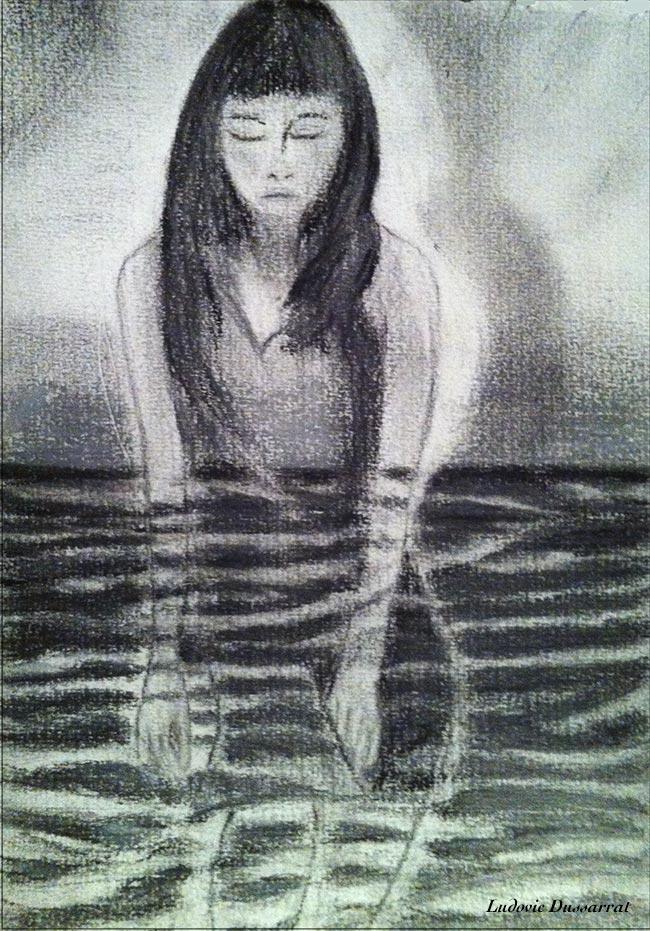 Honte. Crayon sur papier, 21x12, 2012