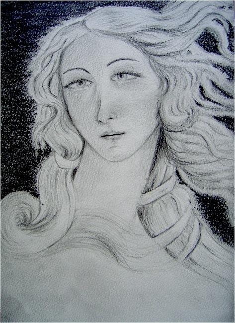 Venus. Crayon sur papier, 16x24, 2011