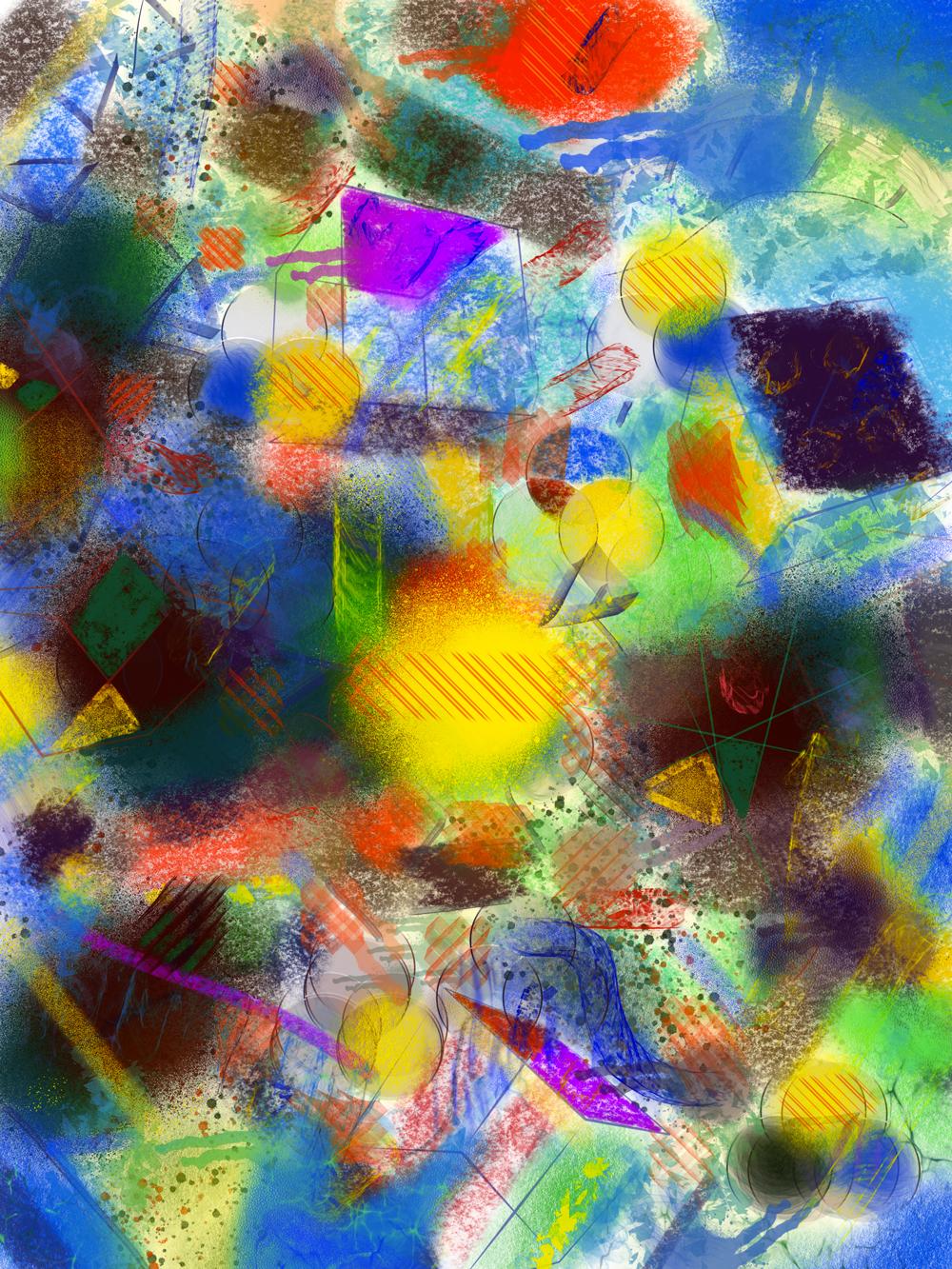 Melancolgia, 7. Peinture digitale, 76x56, 2019
